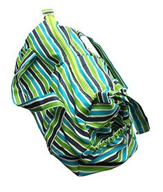Green Breeze Imports Green Stripe Diaper Bag Green Breeze Imports http://www.amazon.com/dp/B00PHIOHR2/ref=cm_sw_r_pi_dp_FzDDvb0DPBQ2N  also on ETSY.com https://www.etsy.com/listing/211048695/green-striped-baby-diaper-bag-handmade?ref=shop_home_active_16  or om the Green Breeze site   http://www.greenbreezeimports.com/shop/product_info.php?cPath=1_25&products_id=88