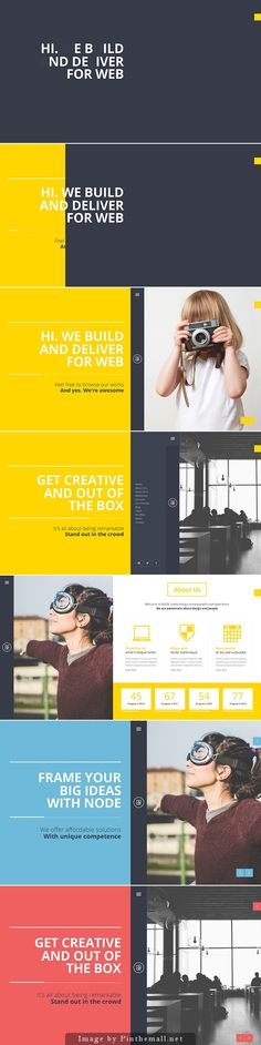 """Node"" Responsive Portfolio Template. Copyright is interesting as well as the idea of losing information."
