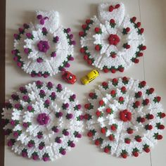 Crochet Earrings, Jewelry, Souvenir, Tejidos, Jewlery, Jewerly, Schmuck, Jewels, Jewelery