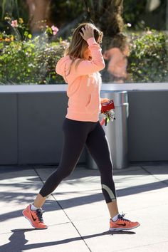 Ashley Tisdale Heads To The Gym In LA