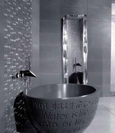 Bañera de diseño Soffi de Bongio