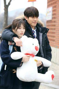 the last k-dramas that i've watched anddddd sooooooooo goood! i turned out liking this drama like crayyyy⭐️⭐️⭐️⭐️ Kim Woo Bin, Korean Actresses, Korean Actors, Uncontrollably Fond Korean Drama, My Shy Boss, W Kdrama, Korean Tv Series, Drama Fever, Suzy Drama