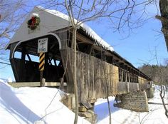The Blair Covered Bridge is seen March 4 in Campton, N.H. President Barack Obama's budget proposal for 2012 would eliminate funding for the ...