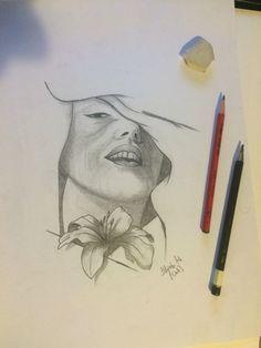 Stepan Urbanek drawing fece lily lips