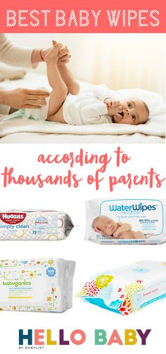 These are the best baby wipes according to thousands of parents.