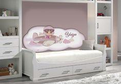 Costado de cama acolchado