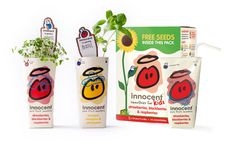 Innocent Smoothies with Free Seeds Peach Smoothie Recipes, Breakfast Smoothie Recipes, Smoothies For Kids, Fruit Smoothies, Innocent Drinks, Lactating Mother, Cucumber Juice, Oatmeal Pancakes, Whey Protein Powder