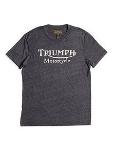 Keep Calm in the Garage and work on a Triumph  Funny Biker T shirt
