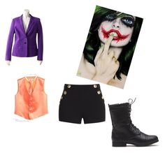 """Halloween costume"" by grace-hobson on Polyvore featuring ESCADA and Boutique Moschino"