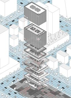 Office & Shopping Mall Tower, Rodrigo Castro-Penalva, Work Position, 2014 - Taiyuan, China