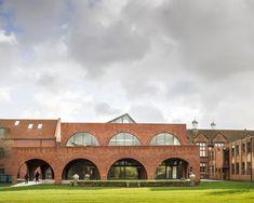 Best Education Building.  Brentwood School Learning Resource Centre. Architect: Cottrell & Vermeulun Specialist Brickwork Contractor: Page & Grimsey Brickwork Ltd Brick: Ibstock - Heritage Red Blend
