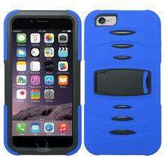 Zizo Rugged Kickstand iPhone 6 Plus (5.5) Case - Blue/Black