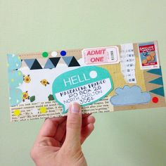 "Image from Michelle Mackintosh's 'Snail Mail' book #mailart ""happymail"