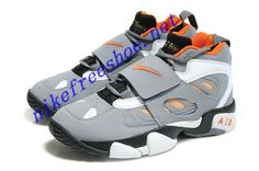 uk availability 67623 770d4 Nike Air Diamond Turf 2 Mens Wolf Grey Orange