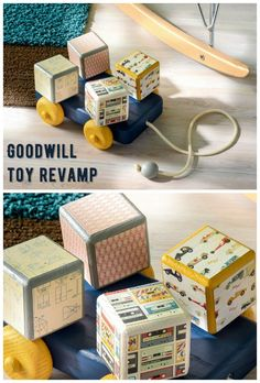 Grab a Goodwill find and turn it into something awesome again. That's exactly what we did with this fun toy upcycle! It's easy to do with Mod Podge.