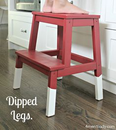 How to dip furniture.