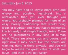♈️ strange how this matched me completely