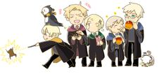 Hetalia (ヘタリア) & Harry Potter crossover - The Nordic 5 (北欧ファイブ)