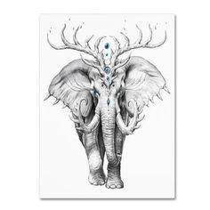 Animal Drawings, Pencil Drawings, Image Elephant, Arte Grunge, Art Watercolor, Desenho Tattoo, Elephant Tattoos, Art Sketches, Fantasy Art