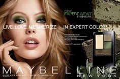 Frida Gustavsson for Maybelline New York Ad Campaign | FashionMention