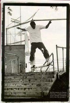 Rodney Mullen - Darkslide Handrail