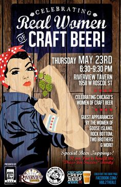 Celebrating Real Women of Craft Beer  #craftbeer
