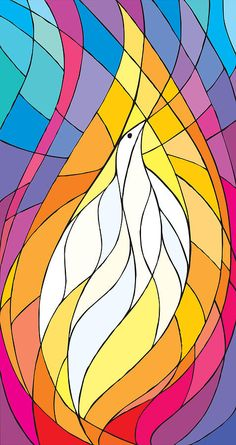 holy spirit dove flame - Google Search