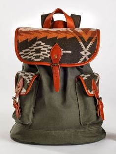 SUNSET PASS CANVAS RUCKSACK