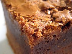 e. guittard's recipe for dirty blondies made with melted milk chocolate; richest and most decadent blondie ever