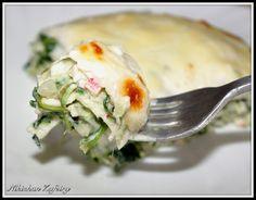 Lasaña de Espinacas y Cangrejo con queso de Cabra