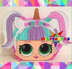 7th Birthday, Birthday Parties, Doll Party, Party Themes, Pony, Diy Projects, Gifts, Ideas, Drum
