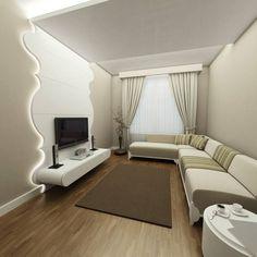Niyazi Özçakar İç Mimarlık - SANABEL KONAKLARI: modern tarz Oturma Odası