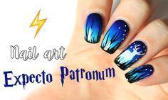 harry potter nail art expecto patronum