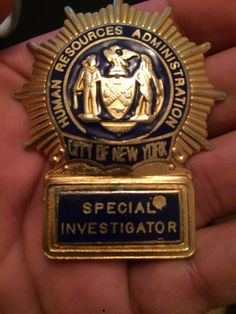 City of New York Human Resources Administration Special Investigator