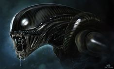 'Alien' by ~DanLuVisiArt