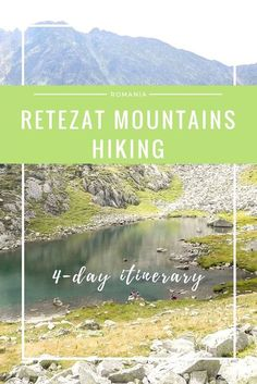 4 days of Hiking in the Retezat Mountains of ROMANIA