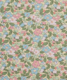 Liberty Fabric, Liberty Print, Textile Design, Fabric Design, Ditsy Floral, Indiana, Printing On Fabric, Print Patterns, Cotton Fabric