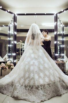 Joli Poli Haute Couture & Wedding Studio 278 Vo Thi Sau Street, District 3, Ho Chi Minh City Tel: (+84) 08.2201.0026 jolipoliboutique@gmail.comwww.facebook.com/jolipoli.boutiques www.jolipoli.vn  #wedding #dress #engagement #trial #strapless #elegant #chic #classy #gown #lace ##jolipoli #celebrity #bride #bridal #fashion #design #white