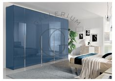 Glass hinged wardrobe by CasaMia Mobili , Italy on display at The Gallerium Bedroom Wardrobe, Master Bedroom, Stone Wall Design, Glass Hinges, Bedroom Furniture Design, Wardrobe Design, Contemporary Furniture, New Homes, Colours