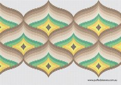Printable Bargello charts