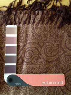 Soft Autumn hues: Tan & Mauve Browns