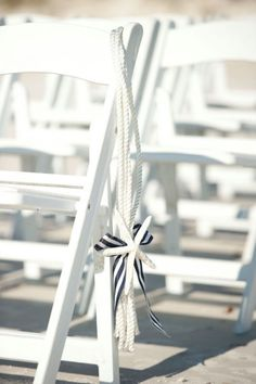 Nautical Themed Weddings....Anyone have pics from theres or ideas? :  wedding nautical DIY