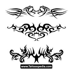 Back Tribal Tattoos For Men 09  - http://tattoospedia.com/back-tribal-tattoos-for-men-09/