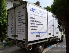 company car transport - to transport: cabinets, furniture and walls of the exhibition, advertising, signs, pylons