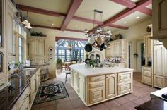 Like this kitchen just would have it a different color