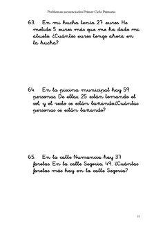 ISSUU - Problemas secuenciados 1er ciclo de Mª Asunción Cabello