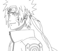 Tailed Beast Naruto Coloring Pages