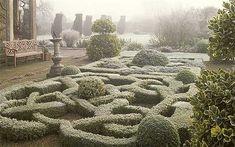 Rosemary Verey's knot garden. England