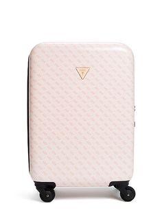 "La Vida Logo 18"" 4-Wheel Suitcase at Guess"