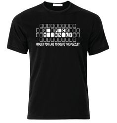 Puzzle TShirt  available in many sizes and colors by SoorDesign, €13.00